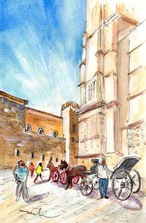 Horse Carriages In Palma De Mallorca von Miki de Goodaboom