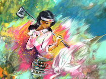 Lady Golf 02 by Miki de Goodaboom