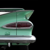 Classic Car in green von Beate Gube