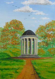 Ionischer Tempel am Georgium Dessau von Barbara Kaiser