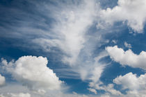 White various clouds formation mix by Arletta Cwalina