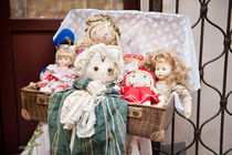 Retro rag dolls toys collection von Arletta Cwalina