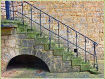 Historische Treppe by Sandra  Vollmann