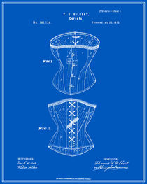 Corset Patent - Blueprint von Finlay McNevin