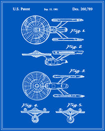 Enterprise Toy Figure Patent - Blueprint von Finlay McNevin