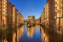 Hamburg - Speicherstadt by Christine Büchler