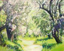Frühlingsweg von Renée König