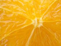 Orange Nahaufname von Matthias Hauser
