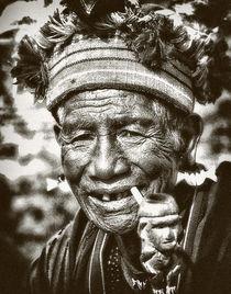 ifugao old smoker by JACINTO TEE