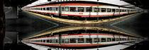 abstrakter ÖBB in Ulm Hauptbahnhof von Michael Naegele