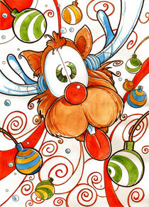 Rudolph the red nose reindeer by Luis Peres
