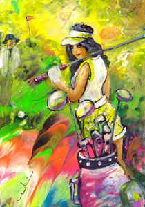 Lady Golf 05 by Miki de Goodaboom