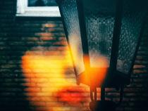 Behind the street light by Gabi Hampe