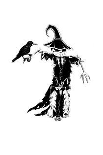 Scarecrow Simple von cvill