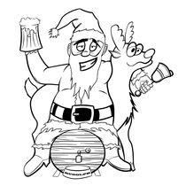 Drunken Santa von cvill