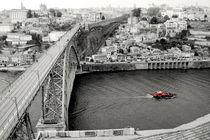 Porto D.Luis bridge  aerial view von a-costa