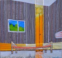 Receycling bed and painting waste von Matthias Kronz