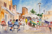 Alcudia Market In Majorca 01 von Miki de Goodaboom