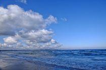 Wolken und Meer von Jörg Hoffmann