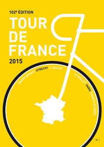 MY TOUR DE FRANCE MINIMAL POSTER 2015 by chungkong