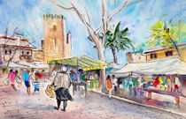 Alcudia Market In Majorca 02 von Miki de Goodaboom