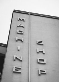 Machine Shop by Jon Woodhams