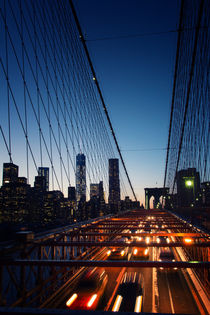 Brooklyn Bridge, New York von noxfotografie