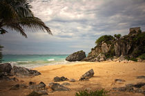 Beach, Tulum by noxfotografie