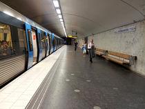 Stockholm Subway by Michael Lichtenstein