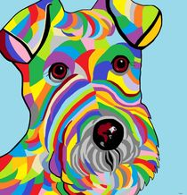 'Wire Fox Terrier' von eloiseart