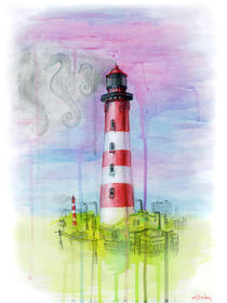 Marine fantasy in the industrial city by Marina Manky