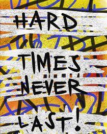 Hard Times Never Last von Vincent J. Newman