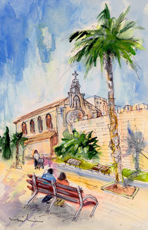 Alcudia Church by Miki de Goodaboom