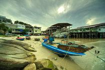 Hua Hin boat  von Rob Hawkins