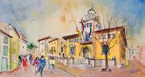 Alcudia Street in Majorca by Miki de Goodaboom