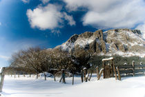 Winter falls at Navarre by a-costa