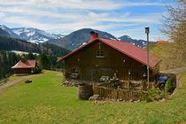 Allgäu - Alpe mit der St. Josefs Kapelle - Chapel by Mark Gassner
