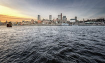 Skyline Hamburg by photoart-hartmann