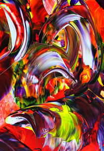 'Abstrakt in Perfektion 3' von Walter Zettl