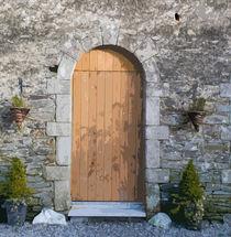 Brown Door by Dave  Byrne