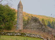 Round Towers of Ireland by Dave  Byrne