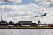 Lux Air London City Airport by David Pyatt