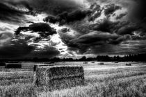 The Late Summer Farm England von David Pyatt