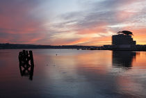 Cardiff Bay Sunset III by Kevin Round