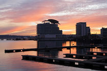 Cardiff Bay Sunset II by Kevin Round