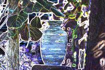 Wine Jar-Abstract Irish Design by Dave  Byrne
