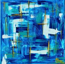 """""""Matrix Blue"""" von Maria Killinger"""