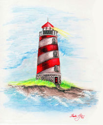 Lighthouse-drawing