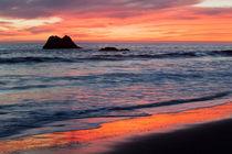 Ocean Sky Awash in Color von Sharon Foelz