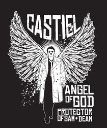 Castiel Angel of God von Matt Fontaine